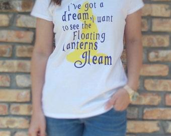 Disney Inspired Princess Rapunzel Dream Shirt for Women & Girls / Princess Rapunzel Shirt / Tangled Shirt for Girls / Disney Tangled Shirt