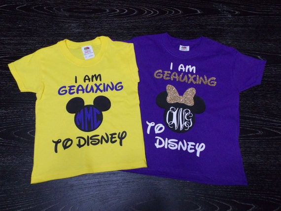 I Am Going To Disney Lsu Shirts For Adults Amp By Magicinmyveins