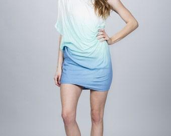 Dye Asymmetrical Dress