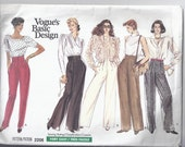 Vogue 2206 Pants Pattern (size 12-14-16)
