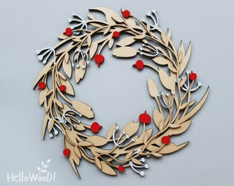 Wreath Decoration Wood