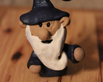 Wizard Gnome ~ Polymer clay