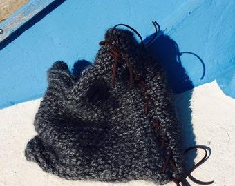 New Infinity Scarf - Hand Knit Scarf - Infinity Shaul
