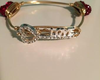 The key to love bangle