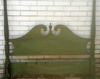 Antique Four Post Bed Set