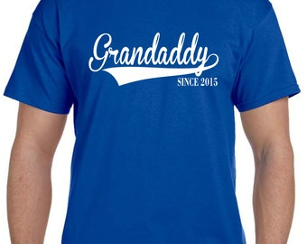 Grandfather Gift First Fathers Day Gift Grandpa Gift Grandaddy Shirt Gifts for Dad Gift Pregnancy Reveal to Grandparents New Grandparent
