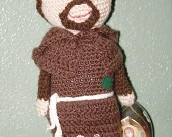 Saint Francis of Assisi Crochet Pattern