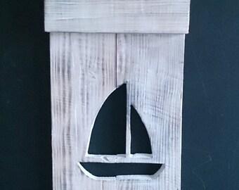 Coat rack boat Ref:007