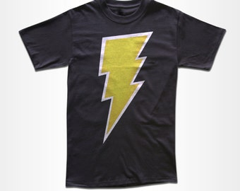 Lightning Bolt T Shirt - Retro Tees for Men, Women & Children (All Colors)