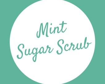 Pure Mint Sugar Scrub