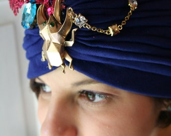 Blue Beetle Turban
