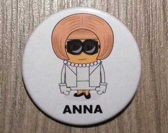 Anna Wintour Minion button