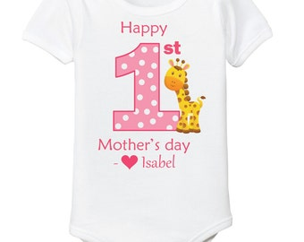 First Mothers Day onsie baby girl
