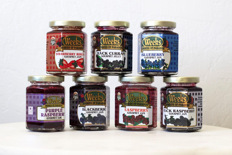 All Natural, Organic, Gourmet Blueberry Jam - Utah's Own, Preserves, Jelly, Marmalade