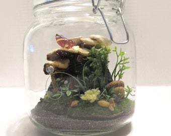 Fairy House in a Jar