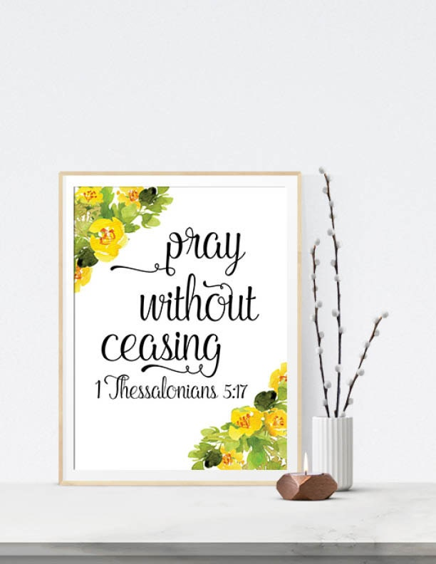 Pray without ceasing 1 thessalonians 5 17 bible verse for Pray without ceasing coloring page