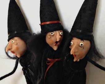 Halloween Witches, Witch Doll, Halloween Decoration, Scared Witches