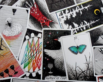 The Wild Unknown Tarot, 3 Card Tarot Spread, Past Present Future, Tarot Reading, The Wild Unknown Deck, Tarot Cards, Divination