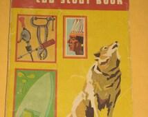 Vintage Wolf Cub Scout Book 1967 version boy scouts