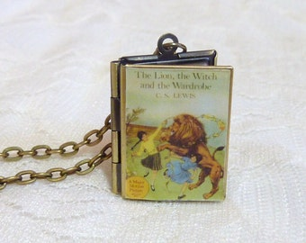 The Lion, the Witch & the Wardrobe Story Locket