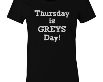 Thursday Is Greys Day Shirt