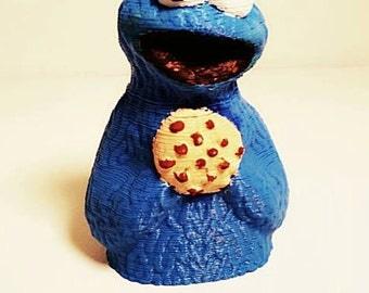 3D printed Cookie Monster