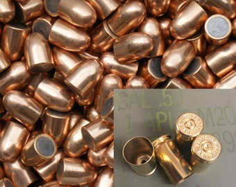 230 gr 45 ACP Large Primer Brass and FMJ Bullet Combo - Cleaned & Polished - 250 Count Available - Reloading or Craft