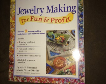 Jewelry Making For Fun & Profit - Paperback Book