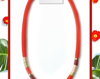 Red String necklace