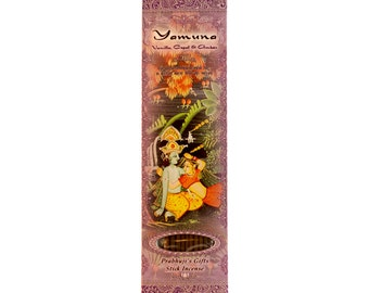 Incense Sticks Yamuna - Vanilla, Copal, and Amber