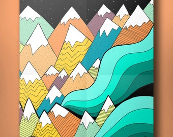Waves Of The Mountains