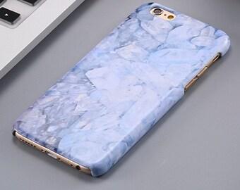 Monogram iPhone Hard Case- Marble Case- Gold Marble- Monogram iPhone Case- Monogram Decal- iPhone 5 Case- iPhone 6 Case- iPhone 6 Plus Case