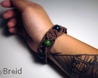 Braid Bracelet - {Forest}