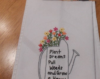 Plant Dreams Tea Towel