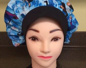 Women's surgical bouffant hat