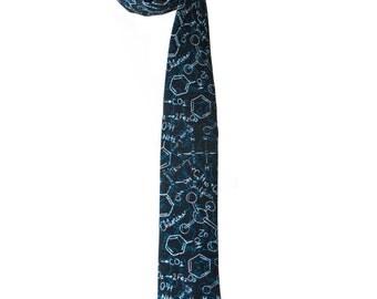 Chemistry necktie - Gift chemist - Men's necktie - chemical tie