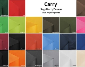 Carry canvas/canvas - windproof & waterproof - 21 colors - 0.5 m