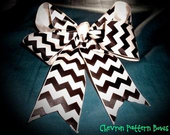 Chevron Patterned Bows