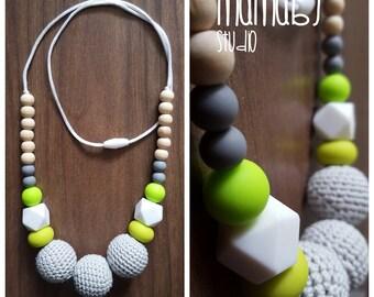 Lovely Lime Nursing Necklace
