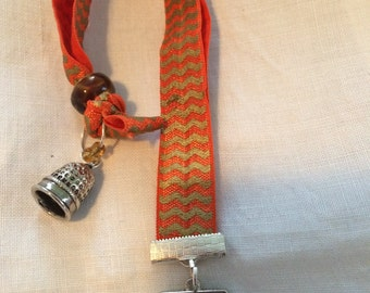 Bookmark, I Love Sewing- Elastic