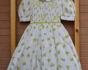 vintage pinafore dress