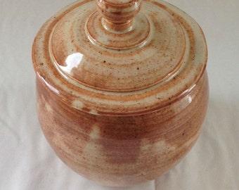 Handmade Covered Jar