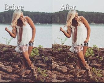 Warmer Photoshop Action Instant Digital Download