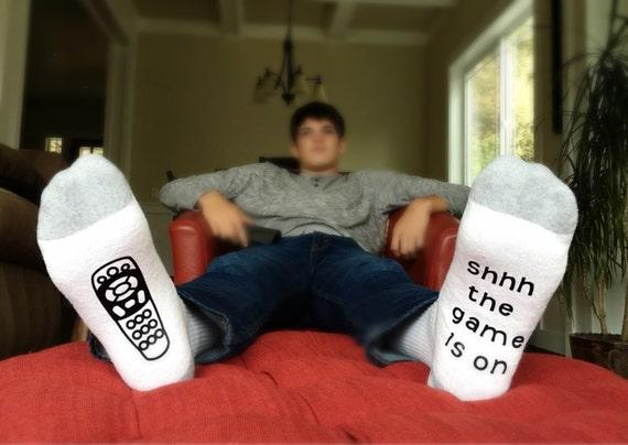 Game Day Socks Funny Socks For Men Gift For Him Gift For