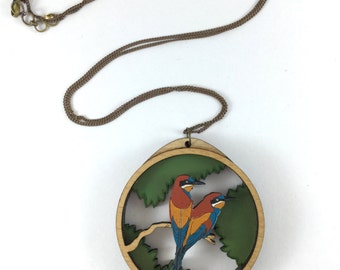 Free Shipping - Bee Eater - Hand painted - Envy art Studio - Laser cut