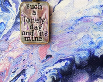 Lonely Day Pendant Necklace