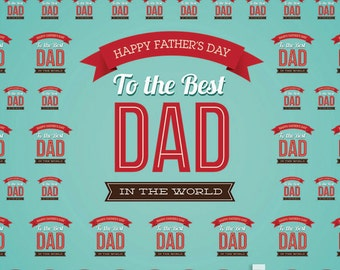 Father's Day Backdrop / Banner (HDY-VS-065)
