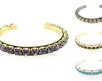 Swarovski Rhinestone Cuff Bracelet