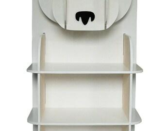 Peter the Panda bookcase