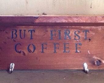 Handmade coffee/tea bars